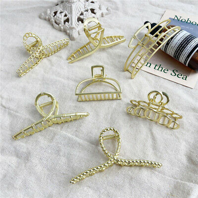 Women New Hair Accessories Metal Modern Stylish L//S Clips Hairband Hair S0Q8