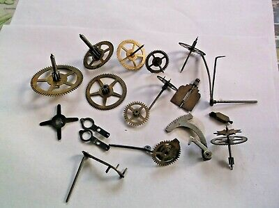 Cogs Etc  From An Old   Mantle Clock   Ref Barb 3