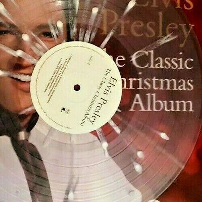 King Elvis Presley The Classic Christmas Album Clear Snowflake Vinyl Amazing 84 00 Picclick
