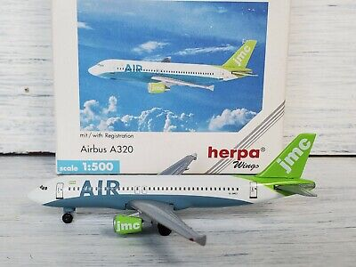 Airbus A320 MEA Middle East Airlines F-OHMO Herpa 501712 1:500