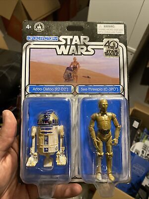 Lot 2 ooshies Exclusive limited Star wars c3po r2d2 series Pencil Topper toys