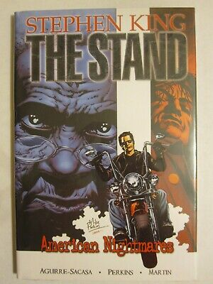 signed 1:75 variant THE STAND american nightmares #4 PERKINS stephen king MARVEL