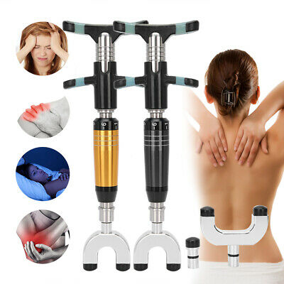 Manual Bone Correction Massager Spine Chiropractic Instrument Pain Relief