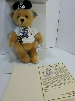 Disney Annette Funicello Bear Tuesday Mousebear Days Of The Week Series Mickey
