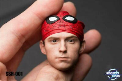 TYM061 1//6 Scale Spider Man Head Body /& Clothes Suit 12/'/' Tom Holland Figure Toy