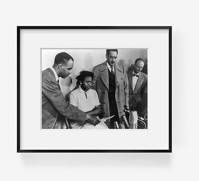 """Eleanor Roosevelt Autherine Lucy Foster 8/"""" x 10/""""  Rosa Parks"""