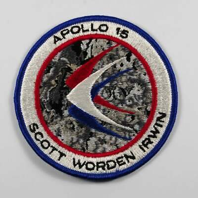 Graphite X Flown To The Moon Surface Apollo 15 Large Size Jim Irwin Letter