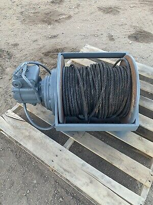 Braden Gearmatic Pd12c 12,000 Pound Hydraulic Winch