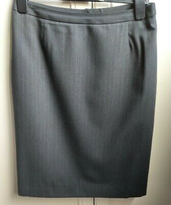 Ladies Austin Reed Petrol Blue Knee Length Pencil Skirt Size 12 Polyester Lined 13 00 Picclick Uk