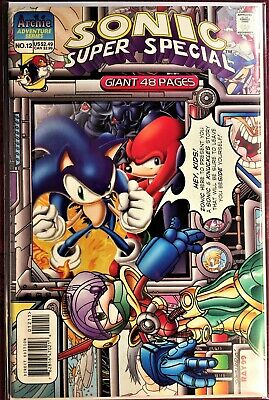 SONIC The HEDGEHOG Comic Book #99 September 2001 KNUCKLES Bagged /& Boarded NM