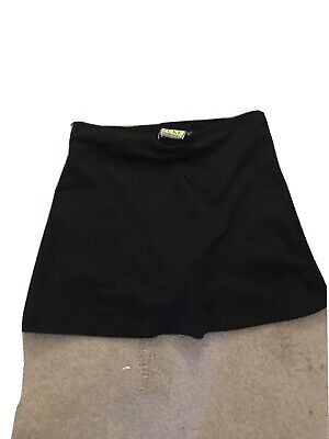 David Luke Girls Black Skort Size 22/24