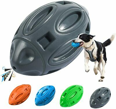 Squeaky Dog Toys for Aggressive Chewers,Indestructible Dog Chew Toys Tough Ball