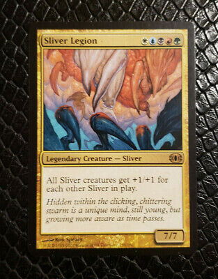 MTG Magic the Gathering Winged Sliver Tempest Playset of 4 Cards MP//HP