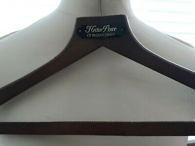 Vintage Austin Reed Regent Street London Wooden Folding Coathanger Clothes Brush 8 95 Picclick Uk