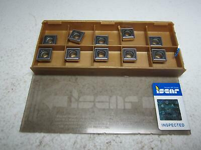 SOMT 120408 DT IC808 ISCAR *** 10 INSERTS *** FACTORY PACK ***