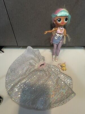 lot LOL Surprise OMG Fashion Doll Candylicious with pet backpack Sparking skirt