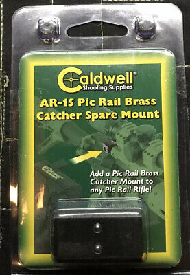 Caldwell 123904 AR Pic Rail Brass Catcher Spare Mount for sale online