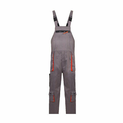 1pcs Bib And Brace Overalls Heavy Duty Work Trousers Dungarees Knee Pad Pockets