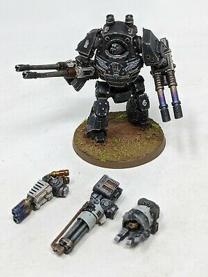 Death Guard Deredeo Dreadnought with weapon pack painted Warhammer 40k