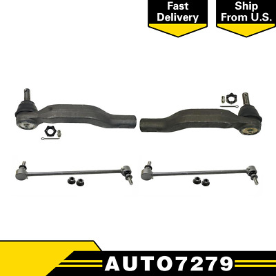 Front Left Outer Steering Tie Rod End Link for Toyota RAV4 2006-2018 1Pc
