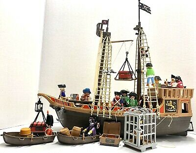 Playmobil main mast for pirate//pirate ship boat set 3750