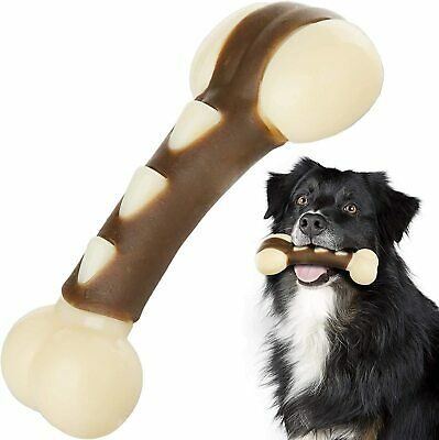 Dog Chew Toys for Aggressive Chewers,Indestructible Beef Flavor Dog Toys Tough