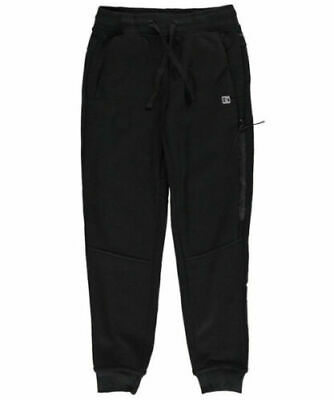 New Hind Premium Black Tied Zip Fleece Lined Joggers Sweatpants Tracksuit 6 Year