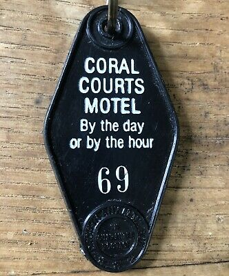 Vintage Coral Courts Motel Room 69 - By Day Or Hour.