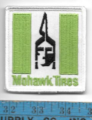 Mohawk Tires Advertising Patch 1980'S