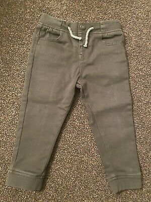 Primark Boys Khaki Green Age 2-3years Trousers