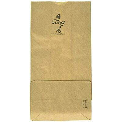Paper Lunch Bags, Grocery Durable Kraft 4 Lb Capacity, Brown Pack Of 500 &amp