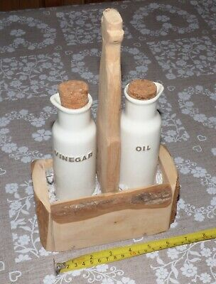 Oil And Vinegar Table Set Handmade for Mothers day