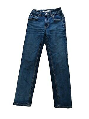 TU Boys Straight Fit Jeans Size 9 Years Old 134cm VGC