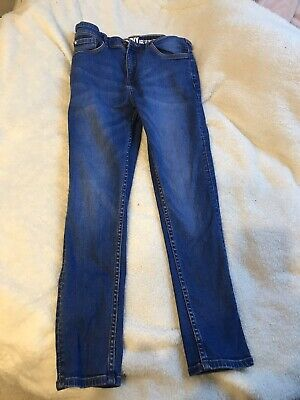 Matalan Boys Skinny Denim Jeans Age 10 Yrs