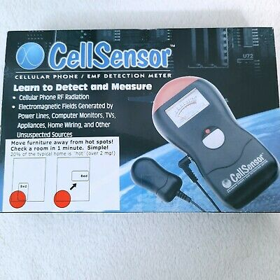 NEW Cell Sensor EMF RF Detection Meter Electromagnetic Frequency Radiation Phone