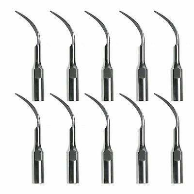 10PCS Dental Scaler Perio Tips Scaling Tip Fit DTE&SATELEC Ultrasonic handpiece