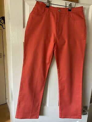 Feraud Club Coral Trousers Size 12/30 Inch Waist