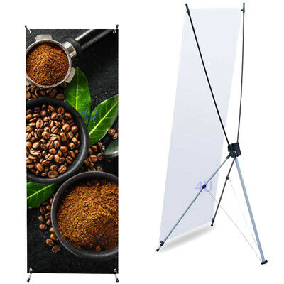 """X Banner Stand 24""""x63"""" w/ Free Bag , Trade Show Display Banner X-banner 60x160cm"""
