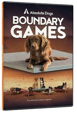 AbsoluteDogs Boundary Games Dog Training DVD Brand new and sealed