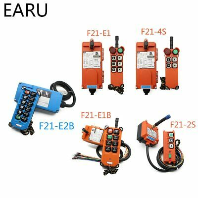AC 220V 110V 380V 36V DC 12V 24V wireless Industrial remote Hoist Crane Control