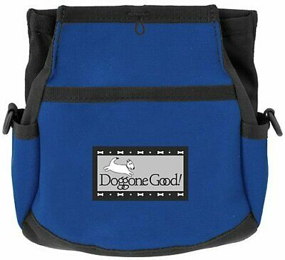 Rapid Rewards Deluxe Dog Training Bag by Doggone Good! (Blue) COMES WITH BELT
