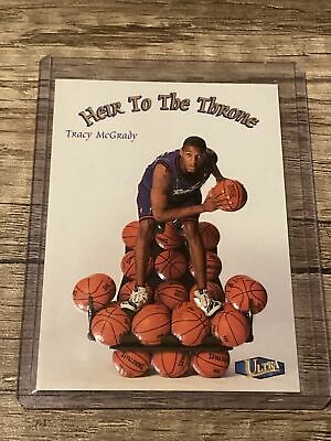 1997-98 Fleer Ultra - Heir to the Throne #10 HT  Tracy McGrady Rookie