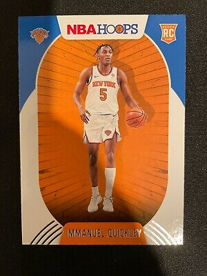 IMMANUEL QUICKLEY RC 2020-21 Hoops Rookie RC NBA Basketball Card #249