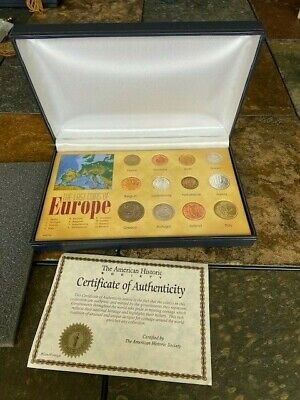 the last coins of Europe. With certificate of authenticity! Own some history!