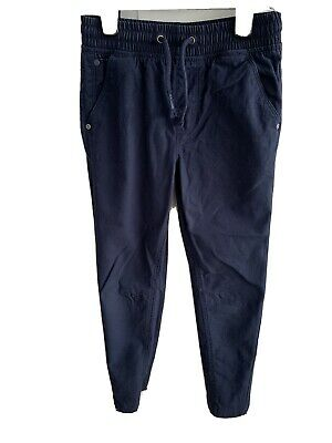 BNWOT GEORGE BOY'S NAVY COTTON JEANS AGE 8-9Yrs