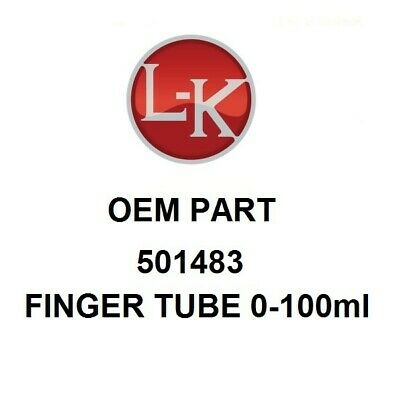 501483 LK Industries Finger Tube 0-100ml (OEM)