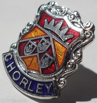 Chorley Town Lancashire County Crest Small Pin Badge (0633)