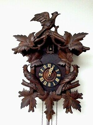 Antique Large Black Forest Cuckoo Clock GGB