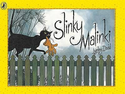 Slinky Malinki (Hairy Maclary and Friends) by Lynley Dodd, Paperback Used Book,
