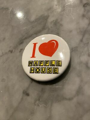 Waffle House Pinback/Button Shaq's Funhouse Party in Atlanta Superbowl 2/1/19